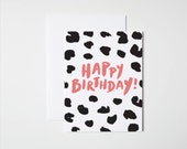 Birthday Card- Cheetah