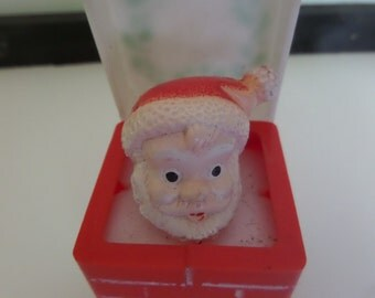 Plastic Santa in Chimney Pop-Up Toy