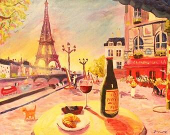Une journée ensoleillée à Paris (A Sunny Day in Paris)