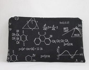 Black Zipper Pouch algebra