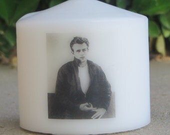 James Dean Custom Candle