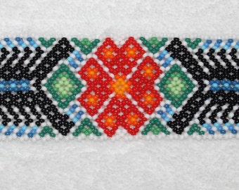 Huichol Beaded Scorpion Bracelet PP-2