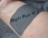 Night Pain V. 2 by Drac Makens - Liquid Cream Matte Opaque Gray Lipstick BOLD COLOR Gothic Noir Sexy