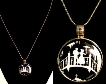 Jolly Holiday Magnet Pendant Necklace