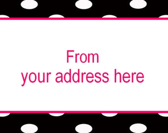 65 per page mini address labels