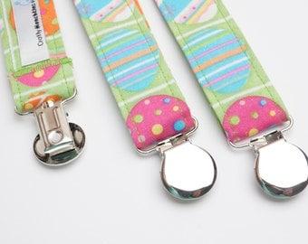 Suspenders - Easter Eggs Adjustable Suspenders