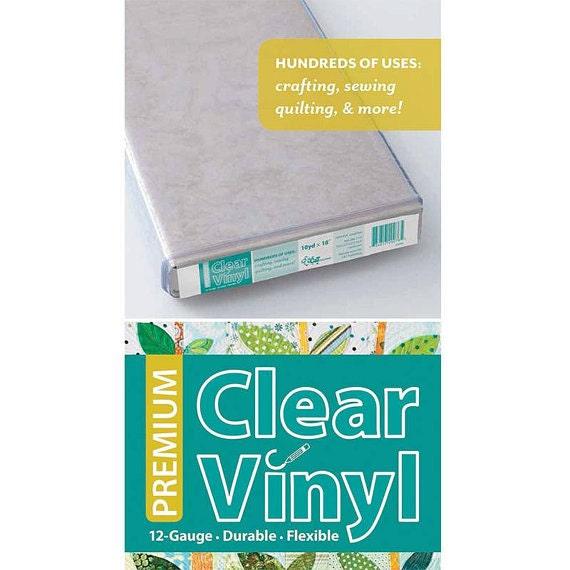 Premium Clear Vinyl 12 Gauge Durable And Flexible