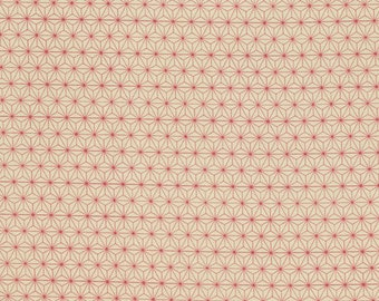 Red Symmetrical by Tim Holtz Correspondence Collection Modern Fabric Red Geometric Fabric Graph Paper Red Material