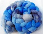 BFL Wool Roving - Handpainted Spinning Fiber -   5.3 oz.  Nr. 678