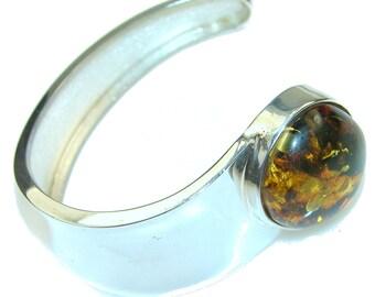 Amber Sterling Silver Bracelet - weight 21.10g - dim 7 8 inch - code 2-lip-15-66