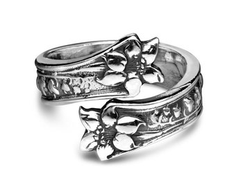 "Spoon Ring: ""Lila"" by Silver Spoon Jewelry"