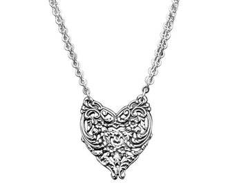 """Spoon Necklace: """"English Lace"""" by Silver Spoon Jewelry"""