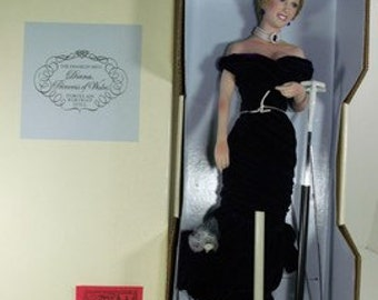 Franklin Mint Diana Princess of Wales Collector Doll