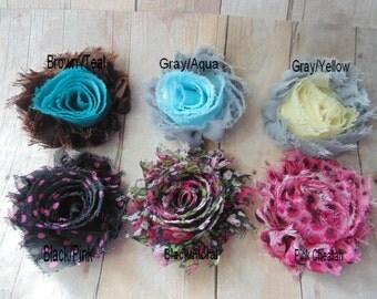 Shabby Sale, Girls Headbands, Newborn Headbands...Flower Headband,  Shabby chic Headbands, Baby Girl Flower Headband, Photography Prop