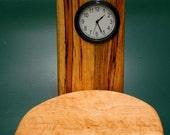 Birdseye Maple/Spalted Beech Clock