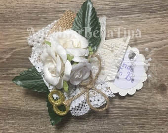 Bride To Be Wrist Corsage