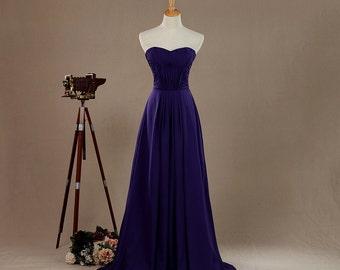 2016 Regency Bridesmaid dress, Sweetheart Strapless dress, Wedding dress, Fairy, Dreamy, Formal dress, Prom dress