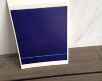 Modern art postcard/Barnett Newman