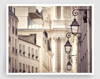 Paris photography - Le Saint Paul III. - Paris photo,Fine art photography,Paris decor,8x10 wall art,white,Fine art prints,Art Posters