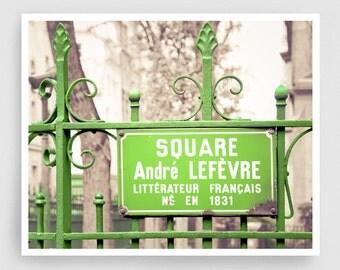 Paris photography - Old park,Paris photo,Fine art photography,Paris decor,large wall art,green,Fine art prints,Art Posters,Paris art