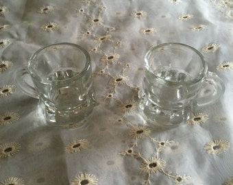 Mini Mug Shot Glasses - Vintage Barware