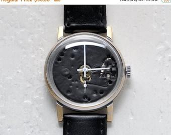 SALE - Skeleton Watch ,Soviet watch ,Russian watch ,Vintage Watch ,Mens watch ,Mechanical watch, classic watch- USSR Vintage