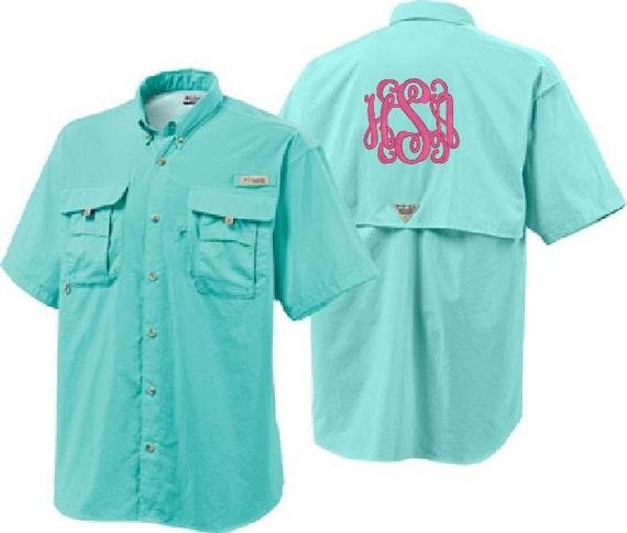 Monogrammed Fishing Shirt Items Similar To Monogrammed