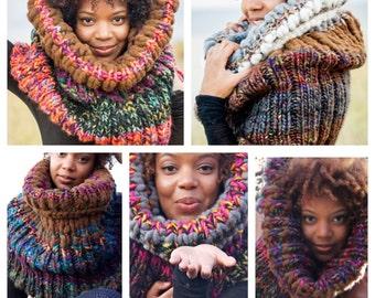 Custom Design Knit Scarf Cowl - 4th Tier