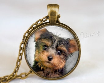 YORKSHIRE TERRIER Necklace, Yorkshire Terrier Pendant, Yorkshire Terrier Keychain, Yorkshire Terrier Jewelry, Yorkie Necklace, Dog Breed
