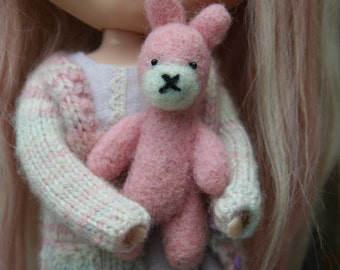 OOAK Needle felted bunny...such a cutie