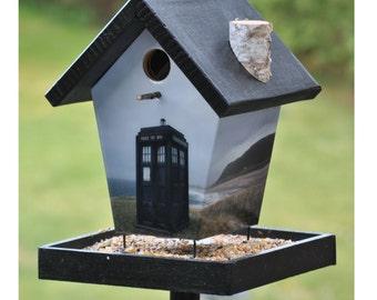 Dr Who Bird Feeder