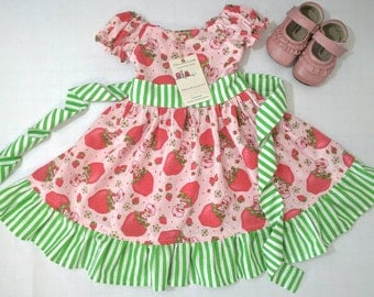 Strawberry Shortcake Dress Made to Order