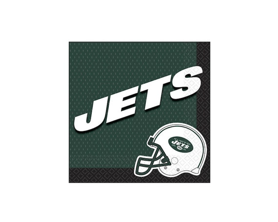 Basket Making Supplies New York : Football nfl new york jets lunch napkins tableware party