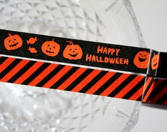Happy Halloween Washi Tape Set of 2