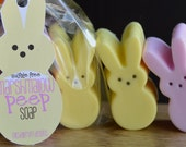 Easter Peeps Soap Bunnies and Chicks Sulfate Free Shea Butter Spring Novelty Soap Easter Basket Party favors
