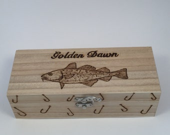 Fishing Tackle float box personalised free