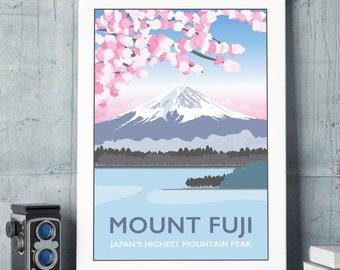 Mt. Fuji, Japan Print