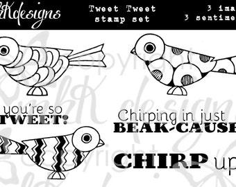 Tweet Tweet Digital Stamp Set