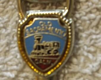 """Collector Souvenir Spoon Old Sacramento Ca 4 1/2"""" SP202"""
