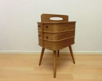 Vintage sewing box Danish design 60s