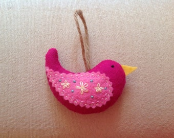 Felt hanging bird- Little Katie Bird