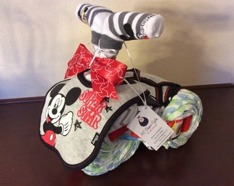 Diaper Tricycle/Mickey Mouse