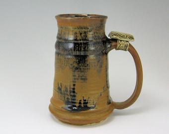 Stoneware Tankard, Large Mug  20-24 oz Sedona  Mocha