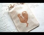 Special Order- 10 Drawstring Muslin Bags