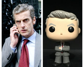 "Custom ""The Thick of It"" Malcolm Tucker Funko Pop!"