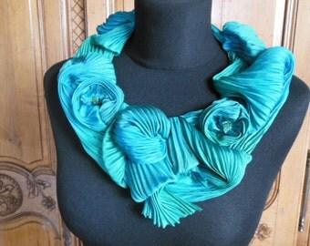 silk necklace set