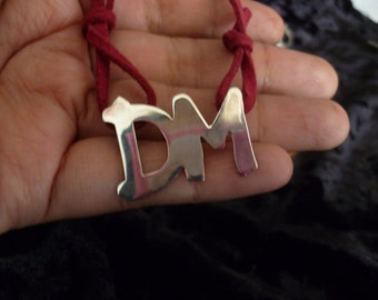 The Personal Jesus logo of Depeche Mode- Sterling Silver Pendant