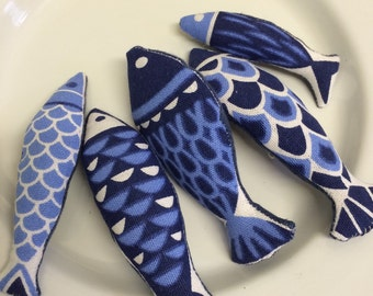 St Ives fish brooch