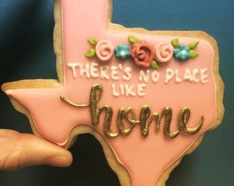 There's no place like TEXAS cookie gift set