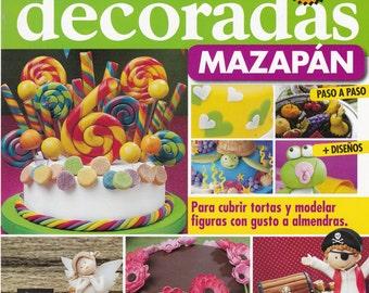 On Sale!!!! Cake Decoration Magazine MARZIPAN - MAZAPAN by Myriam Mollo (Spanish) - RETIRED